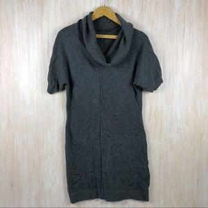 Banana Republic Cowl Rabbit Neck Sweater Dress